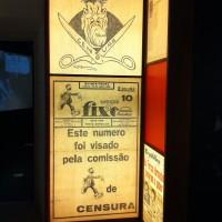 Fig. 12. Stampa censurata (dall'esposizione permanente del Museu do Aljube).