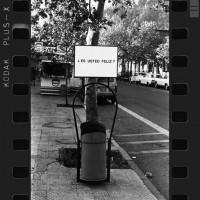 Fig. 11. Altra fotografia della serie Estudio sobre la felicidad, Alfredo Jaar, Santiago del Cile, 1980.