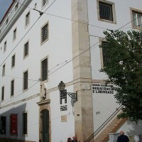 Fig. 9. L'edificio del Museu do Aljube, in Rua de Augusto Rosa, Lisbona (fonte: https://pt.wikipedia.org/wiki/Cadeia_do_Aljube).