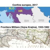 Fig. 1. L'attuale confine EU e la Vojska Krajna