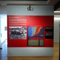 Fig. 18. I numeri della guerra coloniale (dall'esposizione permanente del Museu do Aljube).