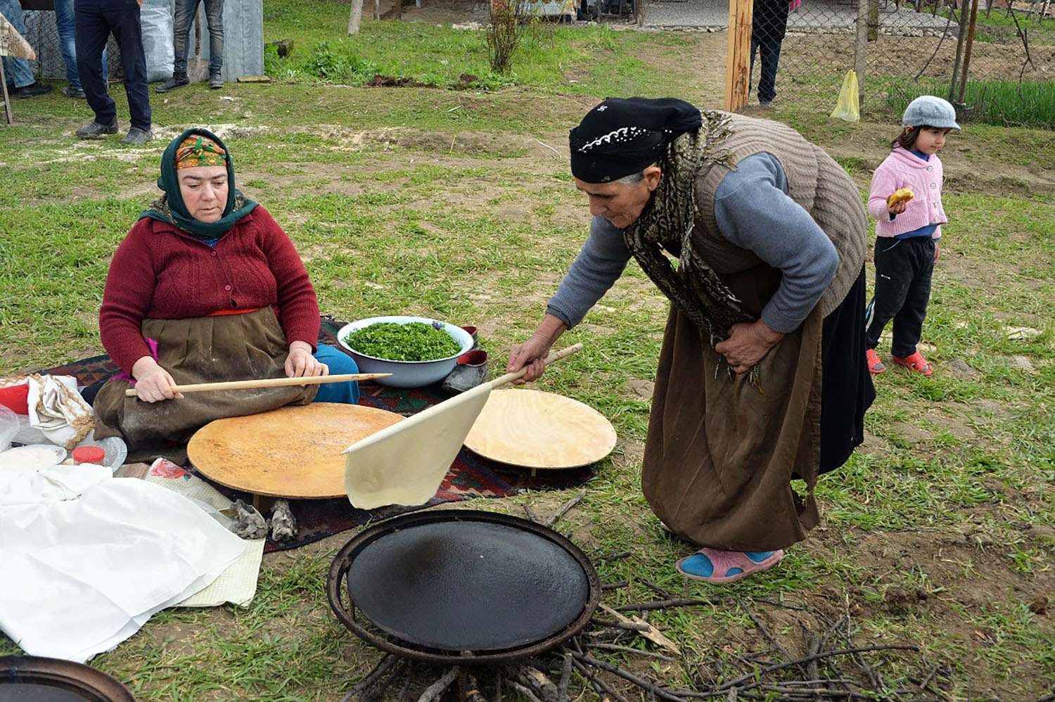 "Fig. 8 ""Flatbread making and sharing culture: Lavash, Katyrma, Jupka, Yufka"" https://ich.unesco.org"