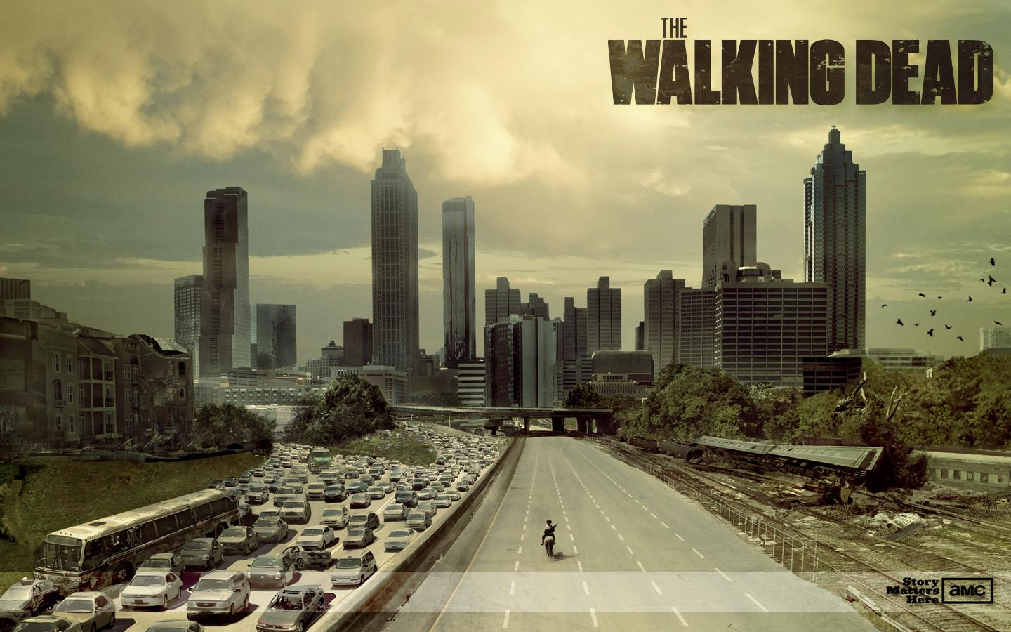 Manifesto della serie-TV The-Walking-Dead