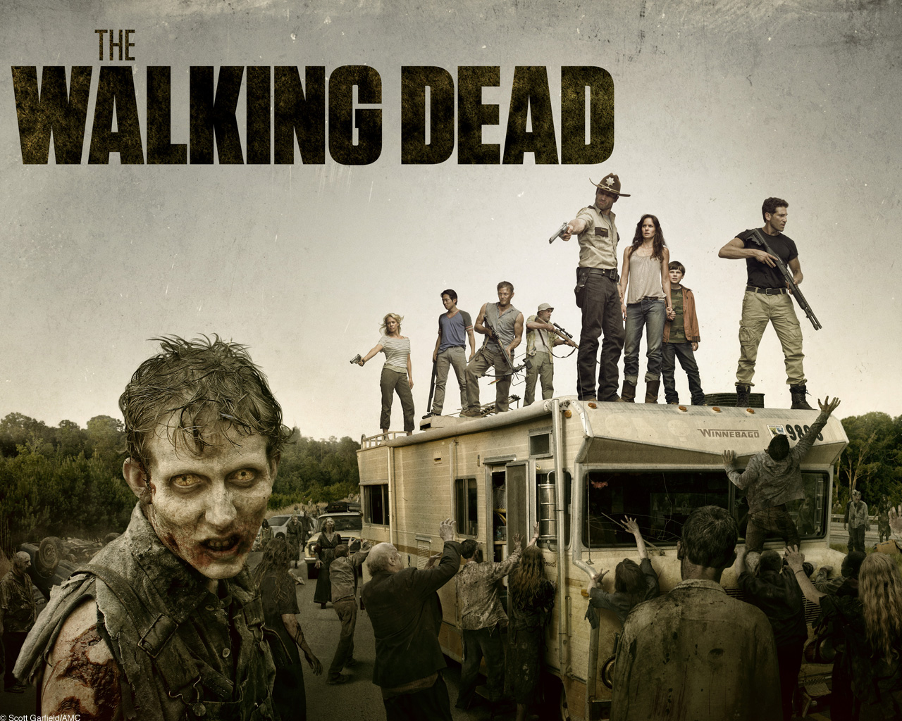 Il mondo apolcalittico in The Walking Dead