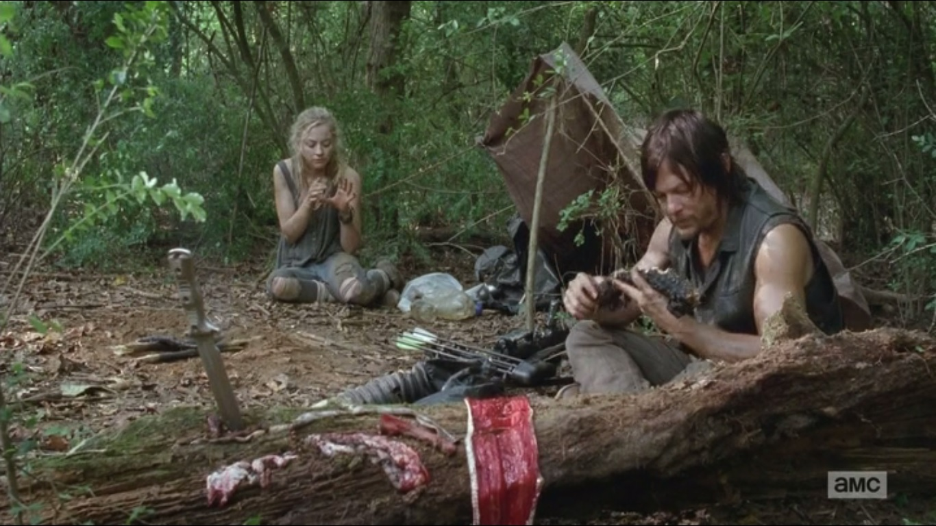 Un'immagine della serie-TV The Walking Dead