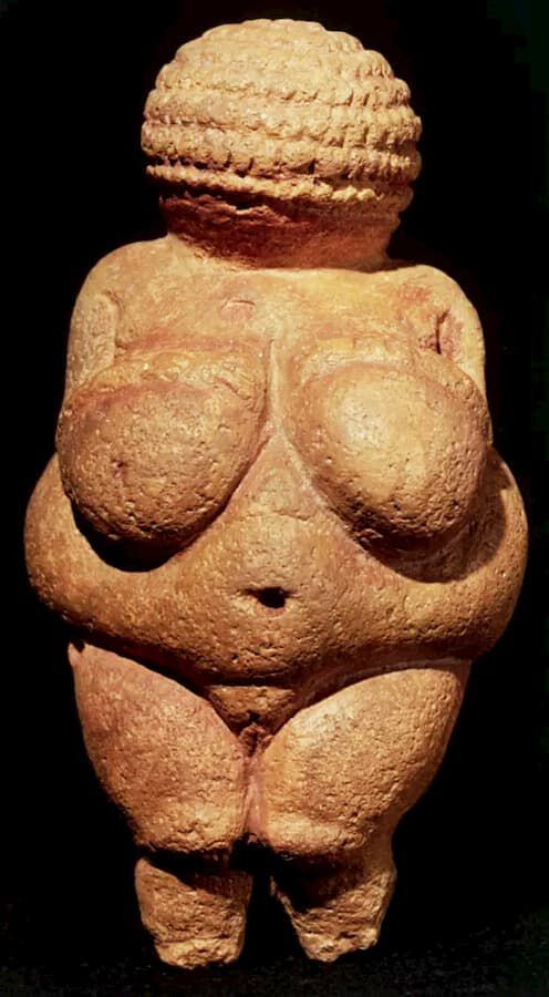 Venere di Willendorf, 23.000-19.000 a.C., Naturhistorisches Museum (Vienna), Provenienza: https://www.arteworld.it/venere-di-willendorf-analisi/