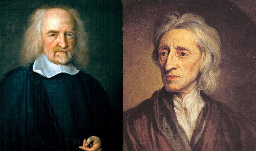 a comparison between thomas hobbes and john locke in politics What is the difference between hobbes's social contract and locke's of thomas hobbes and john locke was mostly political as there was little difference in.
