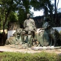Fig. 27. J. Martínez e M. Maldonado, Monumento al Mestizaje, 1982.