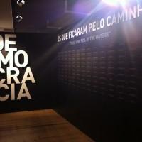 Fig. 19. In memoria dei caduti nella lotta di liberazione (dall'esposizione permanente del Museu do Aljube).