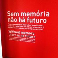 Fig. 21. «Sem memória não há futuro» (dall'esposizione permanente del Museu do Aljube).
